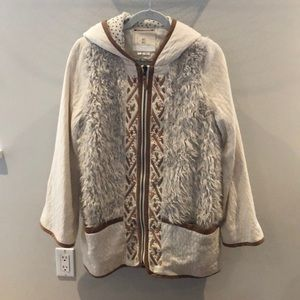 Anthropologie fur jacket